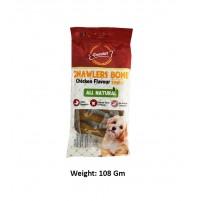 Gnawlers Dog Treat Chicken Bone 3 Inch 6 In 1