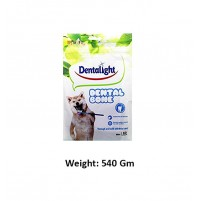 Dentalight Dog Treats Dental Bone Mini 60 Pc