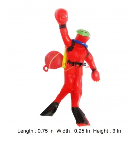 Diver Man Aquarium Toy Max Color