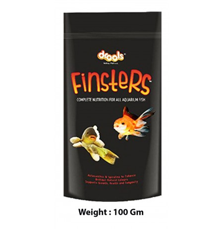 Finster Complete Nutrition Fish Food 100 Gm
