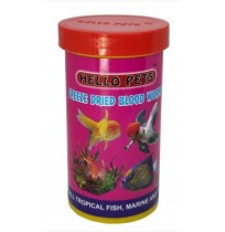 Hallofeed Fish Food Freeze Dried Blood Worms 20 Gm