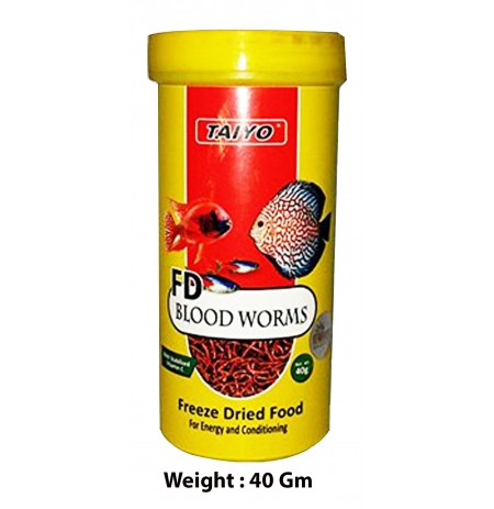 Taiyo Fd Blood Worms 40 Gm