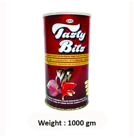 Tasty Bits Fish Food 1000 Ml