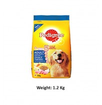 Pedigree Adult Dog Food Chicken And Vegetables 1.2 Kg
