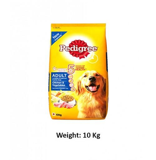 Pedigree Adult Chicken And Veg 10kg Dog Buy At Petshop18com