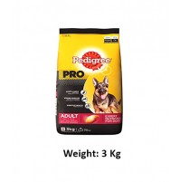 Pedigree Pro Active Adult Dog Food 3 Kg