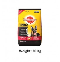 Pedigree Pro Active Adult Dog Food 20 Kg
