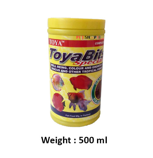 Toya Fish Food Bits Special Complete 500 Ml