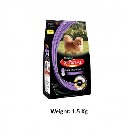 Purina Super Coat Small Adult Breed 1.5 Kg