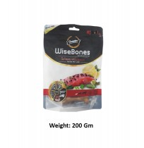 Gnawlers Small Breed Wise Bone Salmon With Lemon 200 Gm