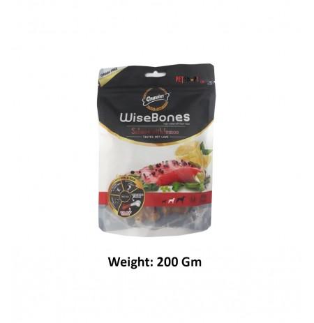 Gnawlers Medium Breed Wise Bone Salmon With Lemon 200 Gm