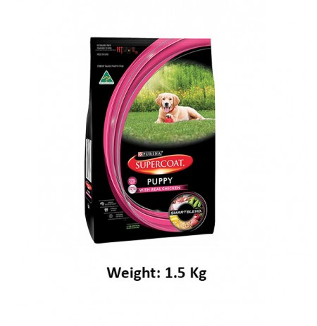 Purina Super Coat Puppy Chicken 1.5 Kg