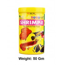 Sobo Fish Food Shrimp E Freeze Dried 50 Gm