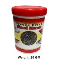 Toya Fish Food Freeze Dried Blood Worms 10Gm