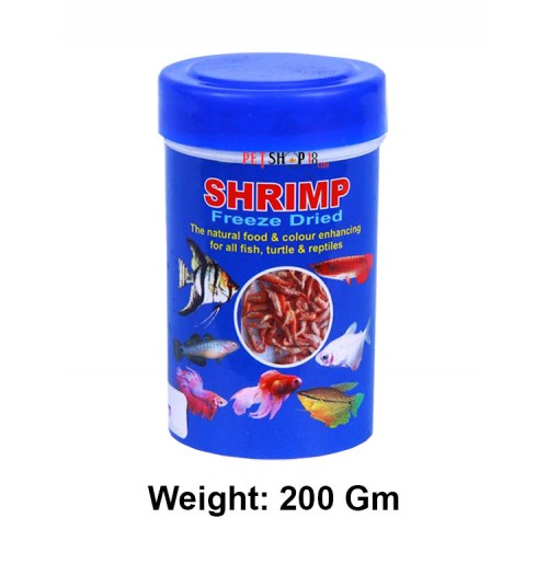 Toya Fish Food Shrimp Freeze Dried 200 Gm