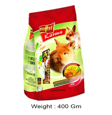 Vitapol Karma Rabbit Food 400 Gm