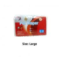 Super Dog Pet Diaper Large