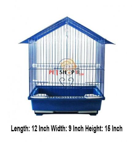 Bird Cage Hut Small Blue