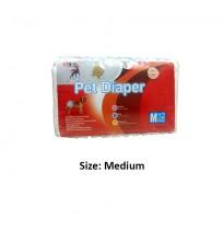 Super Dog Pet Diaper Medium