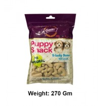 Gnawlers Dog Treats Puppy Snack V Lucky Bone With Milk Flavor 270gm