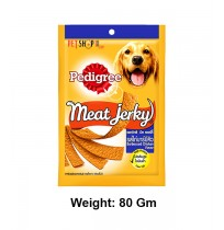 Pedigree Meat Jerky Barbecued Chicken 80 Gm
