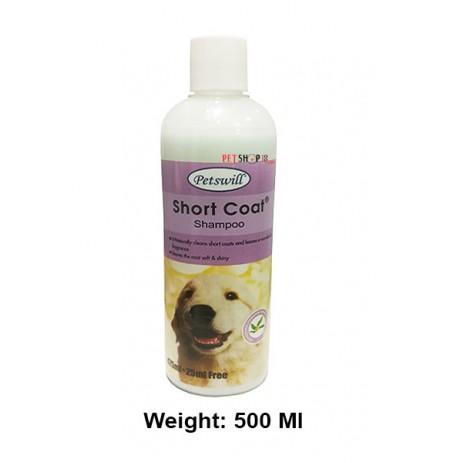 Petswill Short Coat Shampoo 500 Ml