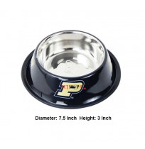 Super Dog Colorful Steel Dog Feeding Bowl Size 03