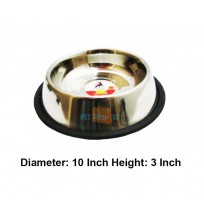 Super Dog Steel Dog Feeding Bowl No 5
