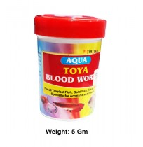 Toya Fish Food Freeze Dried Blood Worms 5g