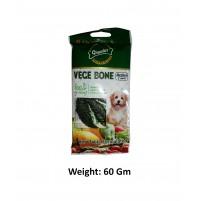 Gnawlers Dog Treat Vege Bone Medium 60 Gm
