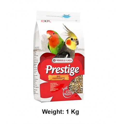 Versele Laga Prestige Big Parakeet Cockatiel 1 Kg