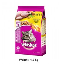 Whiskas Adult Cat Food Chicken Flavour 1.2 Kg