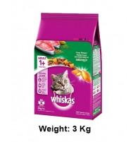 Whiskas Cat Food Salmon Pockets Tuna Flavour 3kg