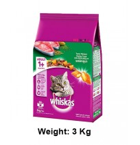 Whiskas Cat Food Salmon Pockets Tuna Flavour 3kg