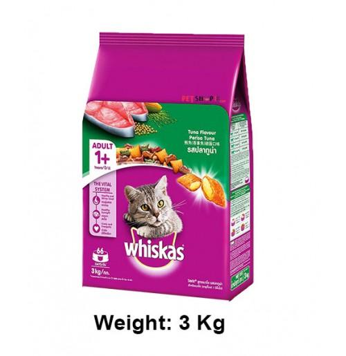 Whiskas Salmon Pockets Tuna Flavour Cat Food 3kg