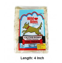 Wild Bites Dog Treats Bone 4 Inch 4 In 1