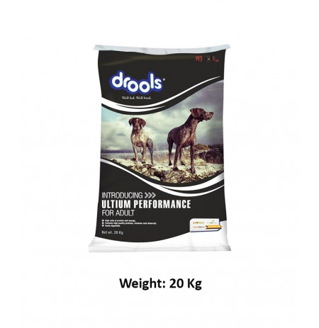 Drools Adult Dog Food Ultium Performance 20 Kg