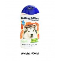 BBN Killing Mites Dog Shampoo All Natural Grapefruit 500 Ml