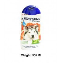 BBN Killing Mites Dog Shampoo All Natural Grapefruit 500 Ml