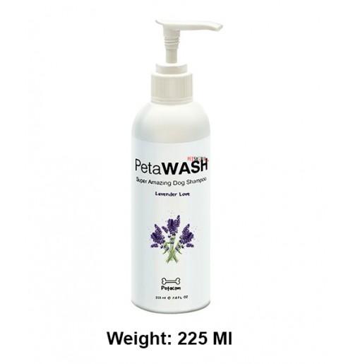 Pet Wash Lavender Love Tearless Dog Shampoo 225 Ml