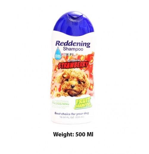 BBN Reddening Dog Shampoo All Natural Strawberry 500 Ml