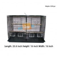 Bird 2 Part Cage Large