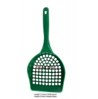 Cat Litter Scooper Green