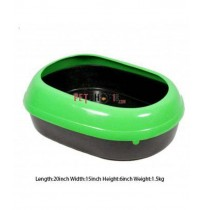 Cat Litter Tray Green