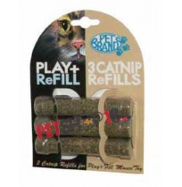 Pets Brand Play and Fill Refillable Cat Nip
