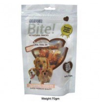 Super Bite Dog Treats Calcium Bone And Chicken Rice 70 Gm