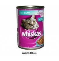 Whiskas Cat Food Tuna Can 400gm
