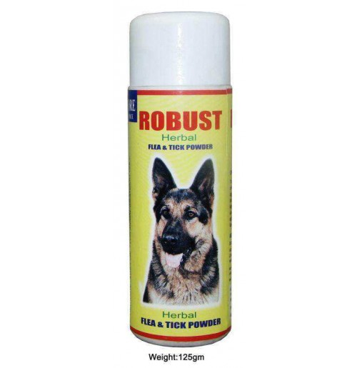 Robust Herbal Flea And Tick Dog Powder