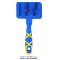 Hello Pet Self Cleaning Slicker Brush Small