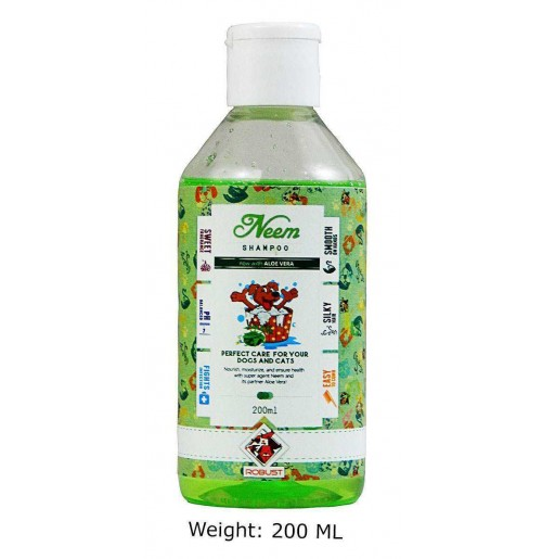 Robust Neem Pet Shampoo 200 Ml